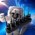 6-way nktech six-way rápido universal multi carregador para pofung baofeng bf-666s bf-777 bf-888s two-way radio walkie talkie