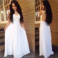 New Arrival Top Selling Beach Sexy A Line Cheap Lace Spaghetti Straps Chiffon Simple Elegant Wedding Dress Gown z61605