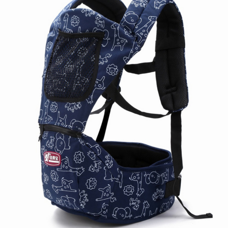 2018 New Arrival  3-36 Months Hip Seat Baby Carrier Kids Shoulders Carry Baby For Mummy Wrap Slings For Babies M103