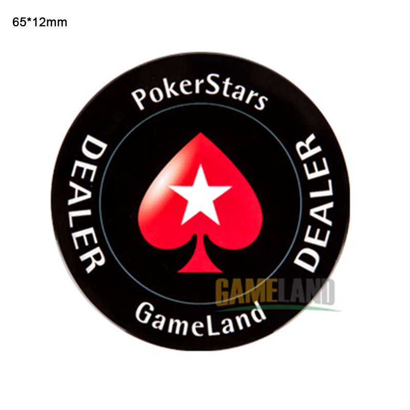 Poker Chips DEALER ALL IN Poker Casino Chip Banker Pressing Card Protector Chips Casino Texas Hold'em Poker Accessories