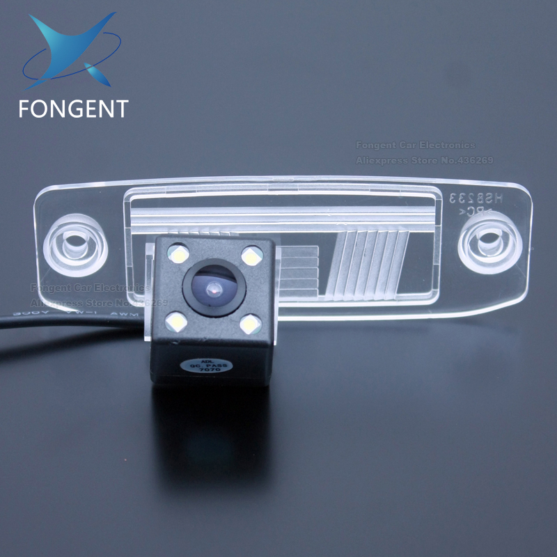 Vehicle Rear View Back Up Parking Reverse CAMERA For Hyundai Kia Sportage R Carens Borrego Sorento Opirus Mohave K3 Ceed Mohave(China)