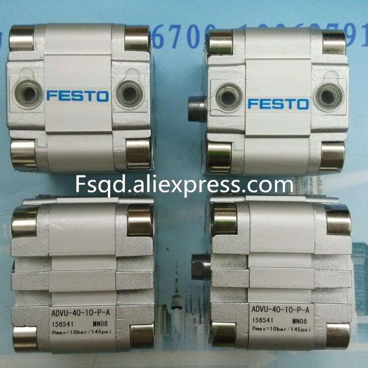ADVU-40-5/10/15/20/25/30-A-P-A FESTO Compact cylinders  pneumatic cylinder  ADVU series advu 12 20 a p a advu 12 25 a p a advu 12 30 a p a festo compact cylinders