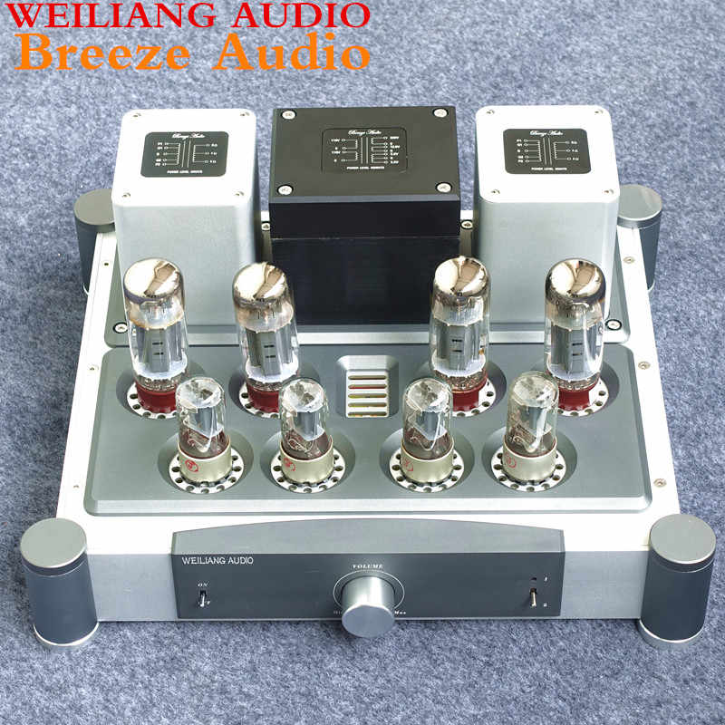 Angin Audio & AUDIO 40 W * 2 EL34 tabung power amplifier WEILIANG A40
