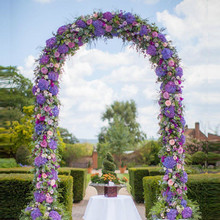 Wedding Decoration Backdrop Stand wrought iron arch flower stand Stage Background Frame party event festival garden decoration цена 2017