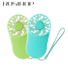 Rosinop Phone Gadget Portable mini ventilador USB Fan Rechargeable Office Gadgets Cooler gadzety ventilateur Accessories