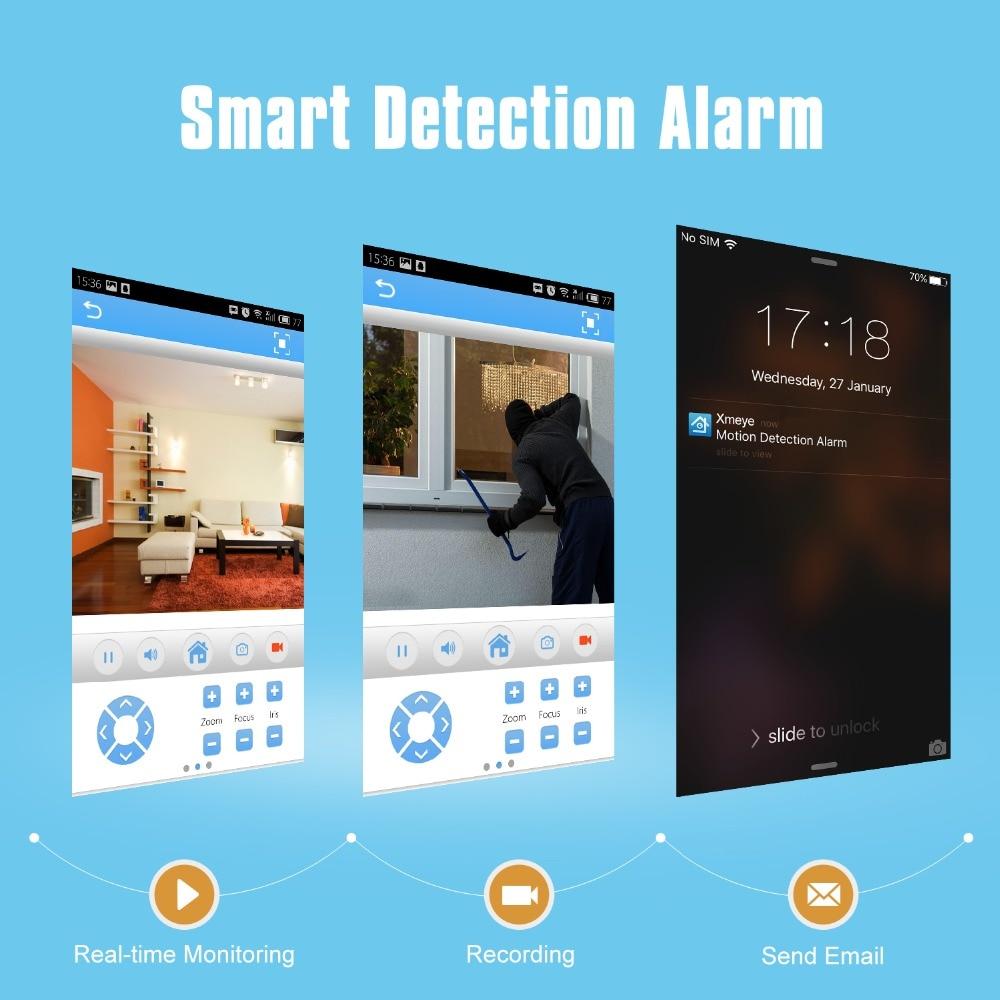 SANNCE 8CH POE CCTV-System 4PCS 2.0MP Outdoor Wetter Sicherheit Kamera 8CH NVR Tag/Nacht Video Überwachung System kit