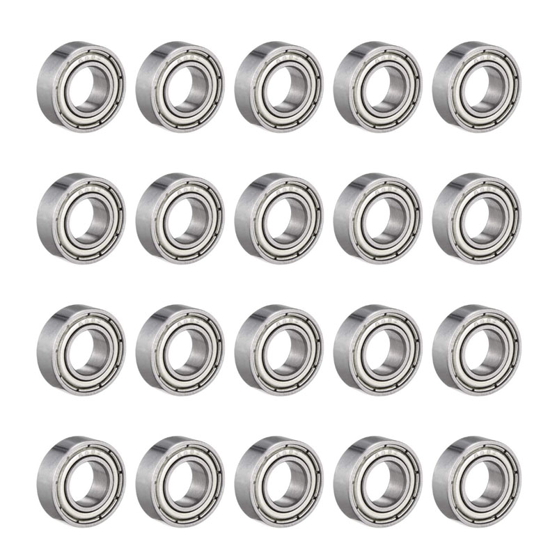 688ZZ Deep Groove Ball Bearing Double Shield 8mm X 16mm X 5mm Bearing Steel Bearings (Pack Of 20)