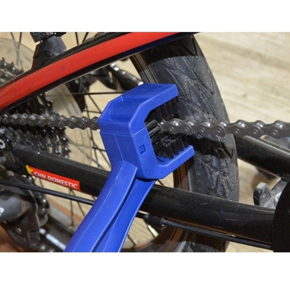 Bicycle Chain Cleaner Tools Brush Mountain Bike Motorcycle ...