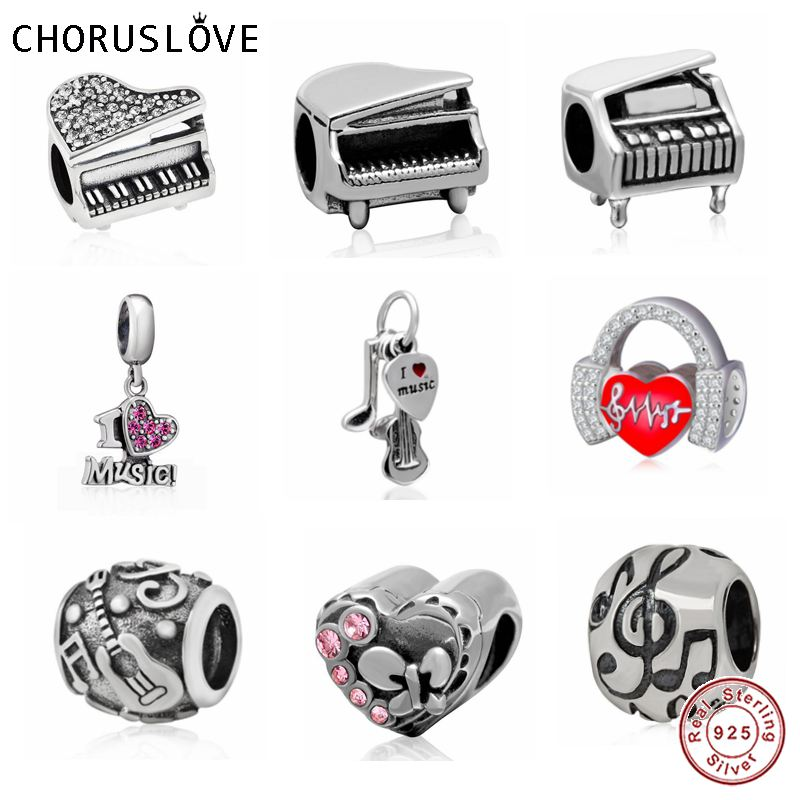 925 Sterling Silver Music Instruments