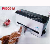 P8000 M 120W KitchenBoss Sealer Empty Family Vacuum Automatic Sealing Time 6 10 Seconds Vacuum Packaging