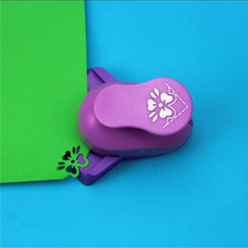 New Flower Scrapbooking Tools Paper Cutter Paper Corner Punch Diy Craft Punch Hole Punch Furadores De Papel S3006
