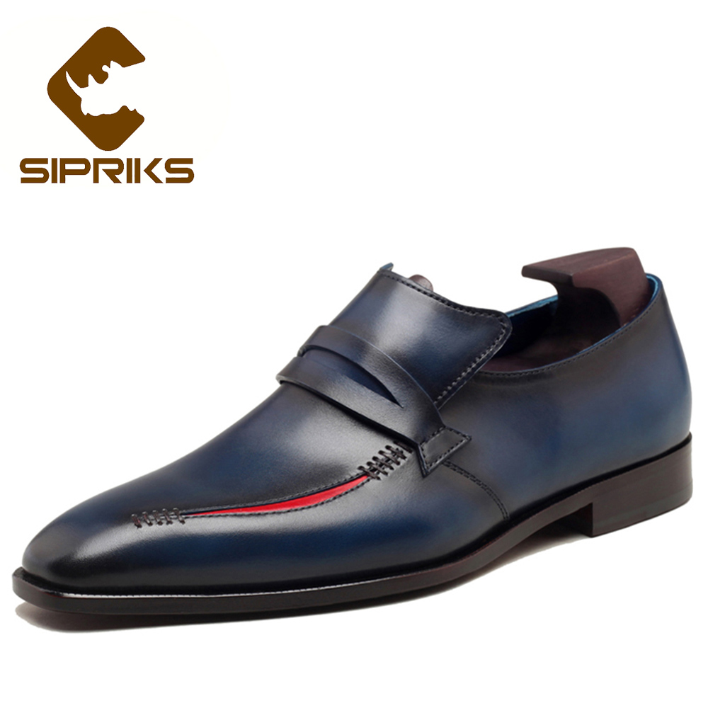 Blue Bottom Dress Shoes