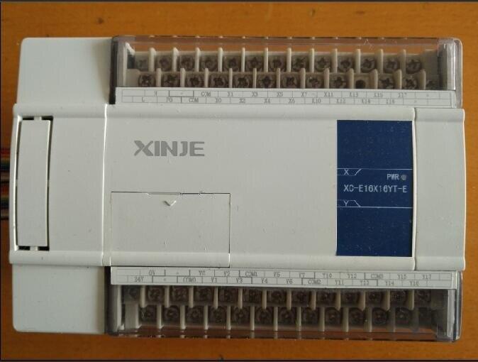 New&Original XC-E16X16YT-E PLC Digital I/O Module DI 16 DO 16 Transistor tested well working three months warranty learning plan wecon 7 inch hmi and 14 digital i o plc transistor