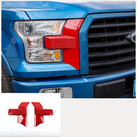 lsrtw2017 abs car headlight chrome for Ford F150 F 150 2015 2016 2017 2018 2019