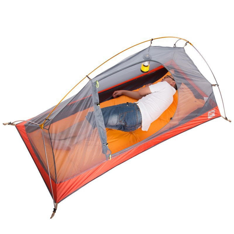 NH ultralight tent Cycling hiking Four season Double layer 20D Silicone tent 1 2 people Tent Ultra Light c&ing Tent tourist-in Tents from Sports ...  sc 1 st  AliExpress.com & NH ultralight tent Cycling hiking Four season Double layer 20D ...