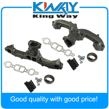 New Set of 2 Exhaust Manifold Pair Left & Right 674-501,327-324F,3932465 For Chevy GMC Van Pickup