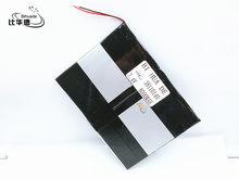 Li-po – batterie rechargeable polymère, 7.4V, 38110140 mah, pour tablette ultra-fine de grande capacité, 8000 mah
