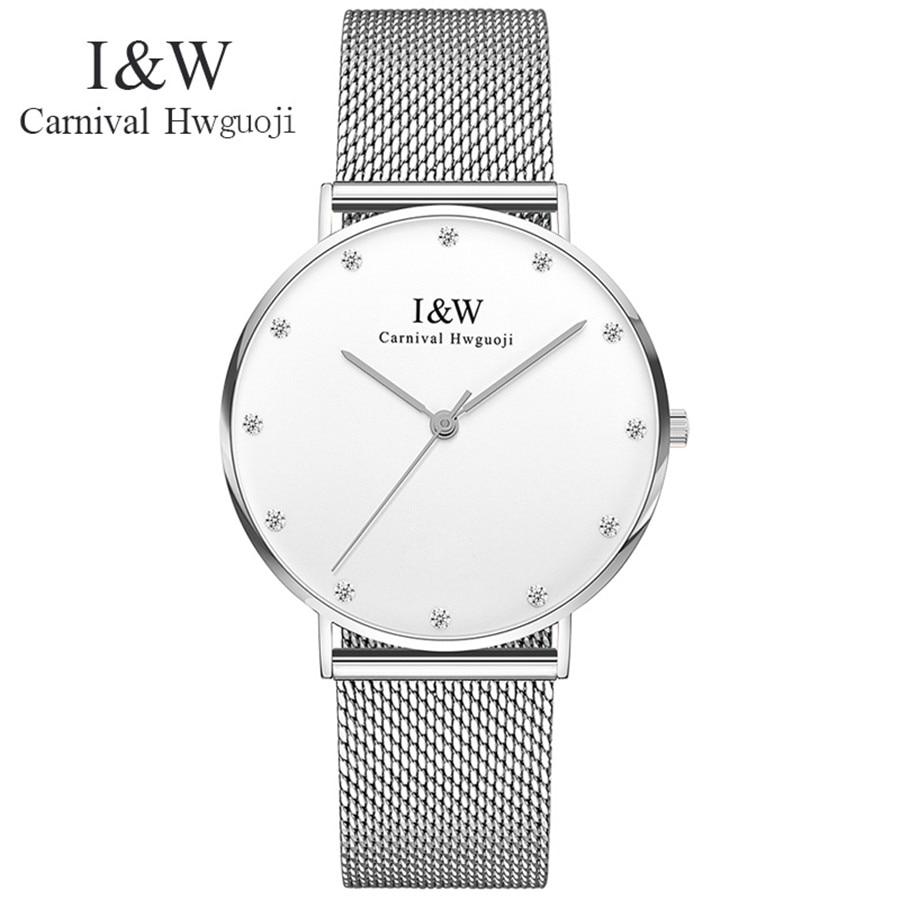 Ultra-thin Dial Mens Watches Lovers Top Brand Luxury Sapphire mirror Quartz Watch Women's Fashion Waterproof 30M Relogio 2017 weiqin w3224 shell dial ultra thin ceramic women quartz watch