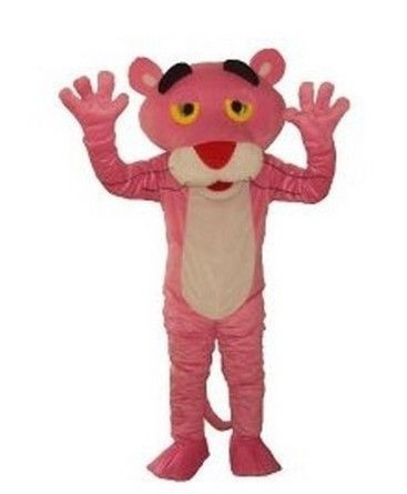 Pink Panther Mascot Costume, Advertising Costume,Cartoon Costume for sale Animal carnival free shipping