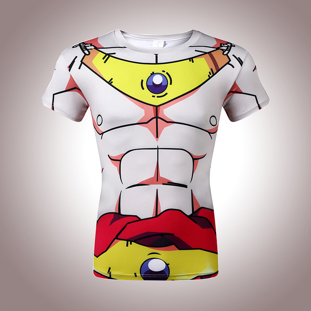 Classic Anime Dragon Ball Z Super Saiyan 3d t shirt tees Cartoon Vegeta Armour t shirts Women Men Casual tee shirts tops