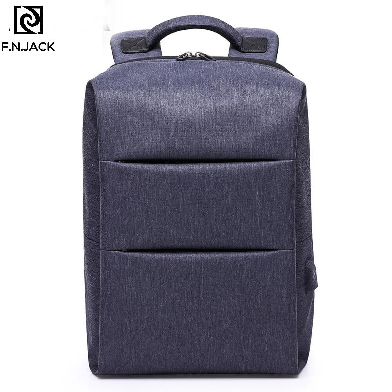 F. N. JACK nouveau sac à dos de voyage ordinateur sacs à dos homme étudiant sac à dos étanche sac à bandoulière Designer ordinateur portable sacs à dos unisexe