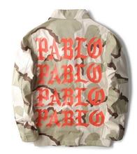 Yeezy Camouflage MA1 Jacke Hoodie Männer Kanye West Pablo Hip Hop ich Fühle Mich Wie PABLO Air Force Mantel Windjacke Jeans Bomberjacke