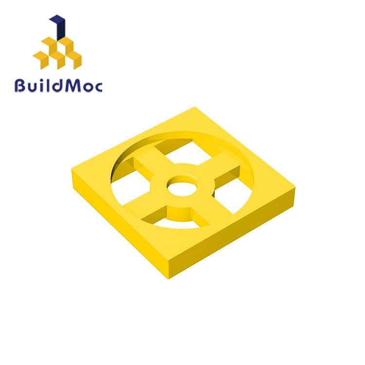 BuildMOC Compatible Assembles Particles 3680 2x2 For Building Blocks Parts DIY LOGO Educational Creative Gift Toys
