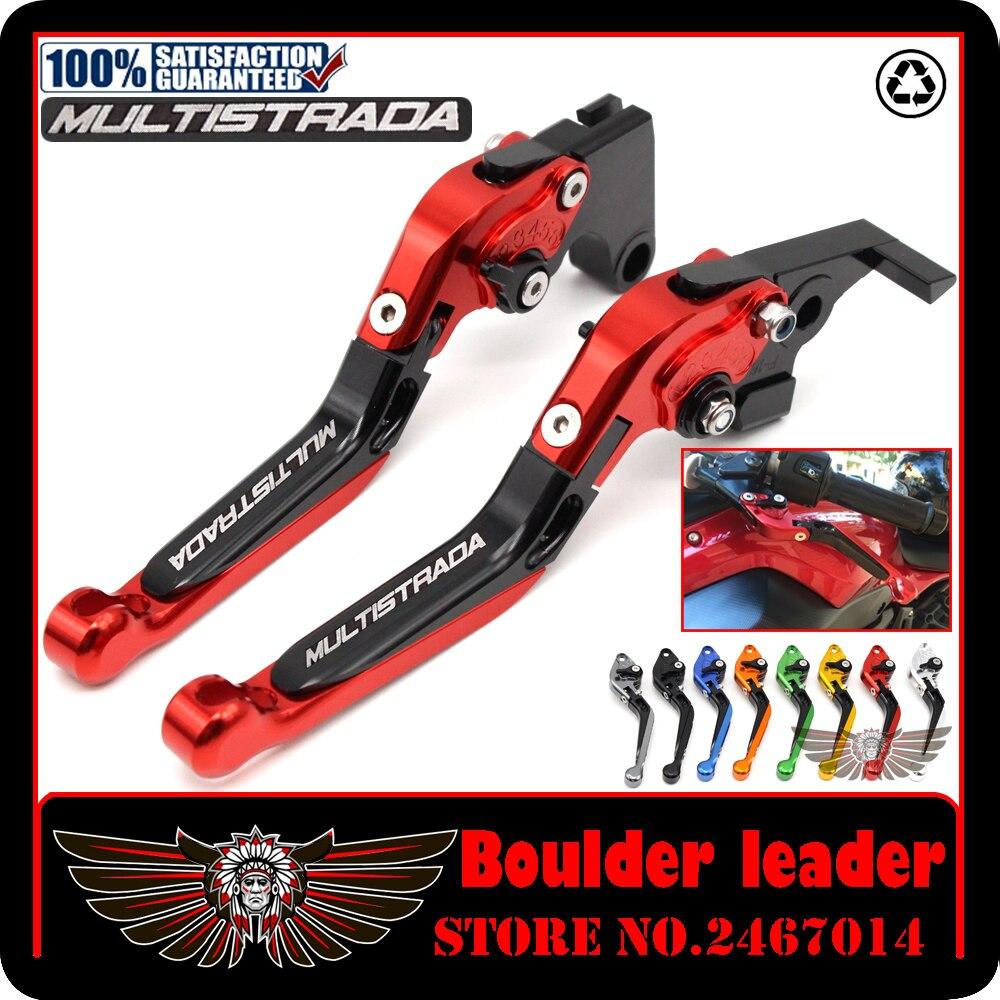 Adjustable Billet Brake Clutch Levers For Ducati MULTISTRADA 1200//S 2010-2014