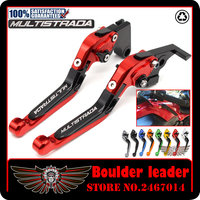 For DUCATI MULTISTRADA 1200/S/GT 2010 2016 Motorcycle Accessories CNC Aluminum Folding Extendable Brake Clutch Levers