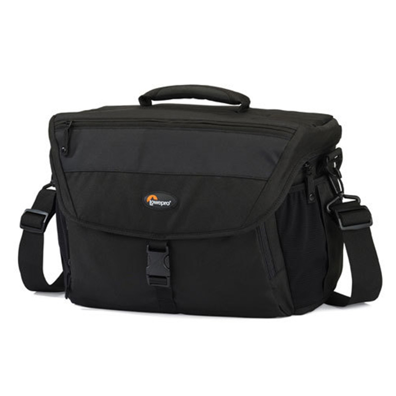 Hot Sale Genuine Lowepro Nova 190 AW Camera Bag Single Shoulder Bag Case Backpack With  all weather Cover fast shipping lowepro pro runner 350 aw shoulder bag camera bag put 15 4 laptop with all weather rain cover