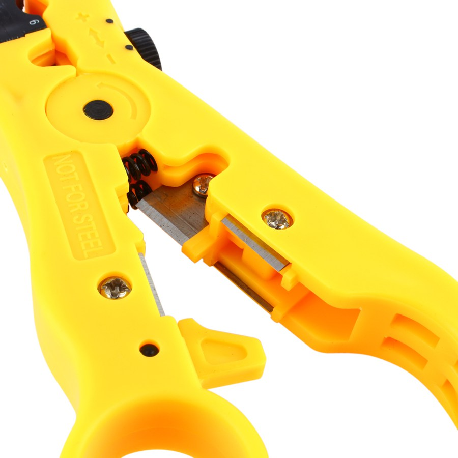 New Rotary Coax Coaxial Cable Wire Cutter Stripping Tool Rg59 Rg6