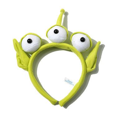 Women Kid Green 3 eyes Alien Toy Story Costume Ear Monster Party Hair head band toy story costumes adult
