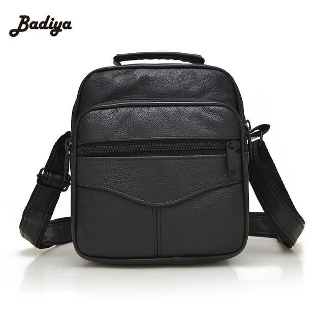 4bd75486cf12 Hot sale genuine leather men bags small shoulder bag men messenger bag  crossbody leisure bag fashion