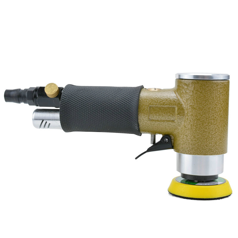 Pneumatic polishing machine, polishing machine polishing machine 50mm sandpaper sander BD-0149 4 inch disc type pneumatic polishing machine 100mm pneumatic sander sand machine bd 0145