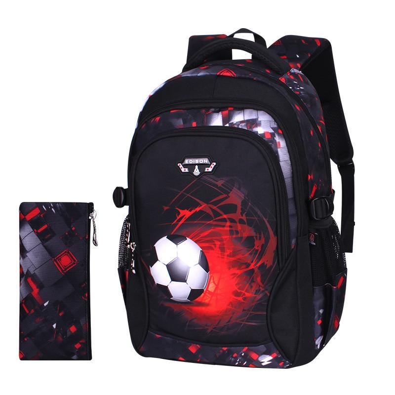 Waterproof Backpacks Suitable For Grades 1-9 Children Orthopedic School Backpack School Bags For Boys Kids Satchel Schoolbgs