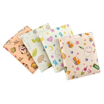 E-Mell Neko Atsume Natsumes Book of Friends Love Live! Totoro Korean PU Full-Color Printing Short Wallet