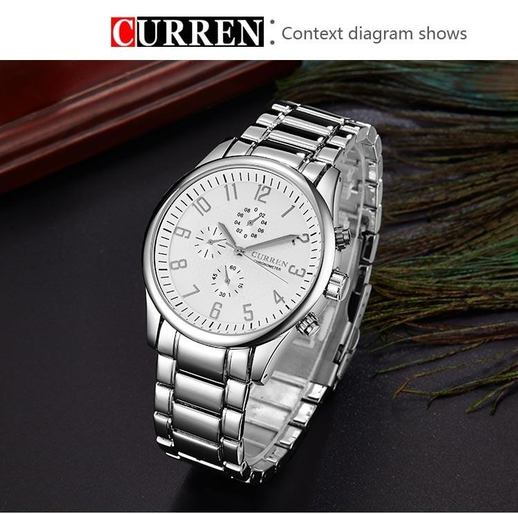 CURREN 8046 Men Watch
