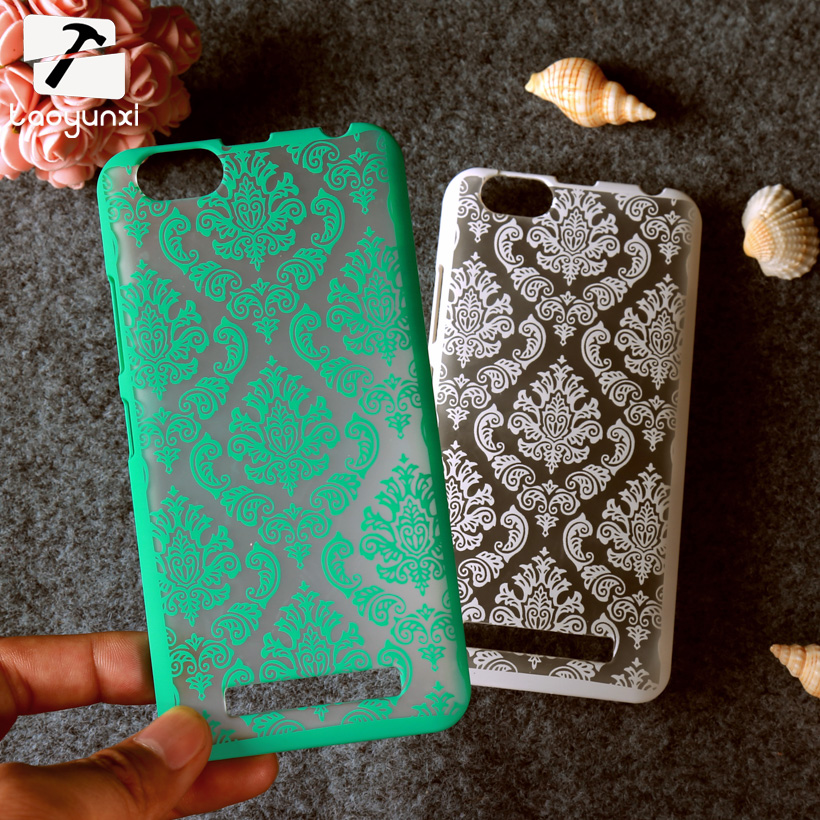 TAOYUNXI Phone Case For Lenovo Vibe C Lenovo A2020 A3910 Bag Plastic Vintage Flower Housing Cover For Lenovo Vibe C Case
