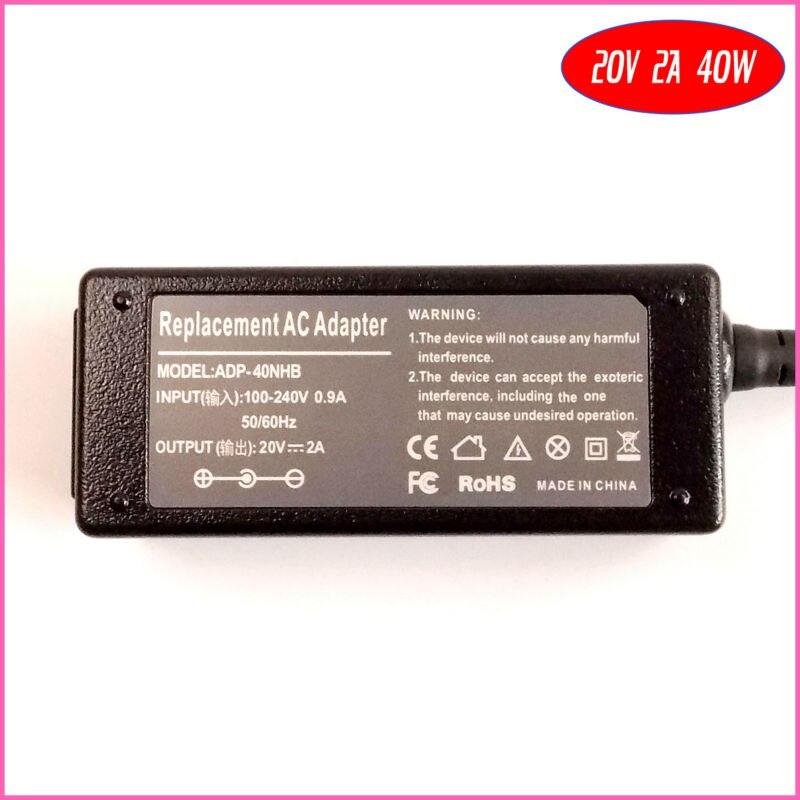 20 V 2A 40 W Замена адаптера переменного тока питания для ноутбука Зарядное устройство для lenovo M9, M10, 0225C2040 36001653 4231A8U PA-1400-12