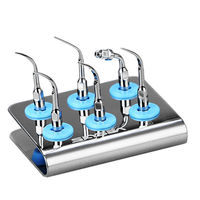 Dental Ultrasonic Scaler Tip Holder 6Tips Spitze(G1G2G4P1P3E1) Fit EMS 0.22Mpa