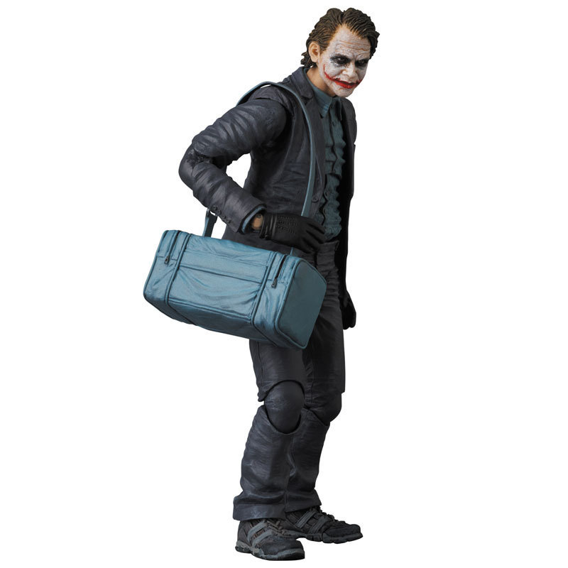Elsadou 15cm NO.015 Batman The Dark Night The Joker PVC Collectible Figure Model Toy with Retail Box transformation robot the last night age of extinction deluxe class figure dark guard exclusive collectible toys