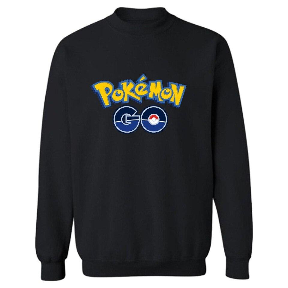 Charmander Anime Pokemon Go Capless Sweatshirt Men Hoodie Japanese Classic Game Winter Hoodies Men Casual Fashion Funny Clothes