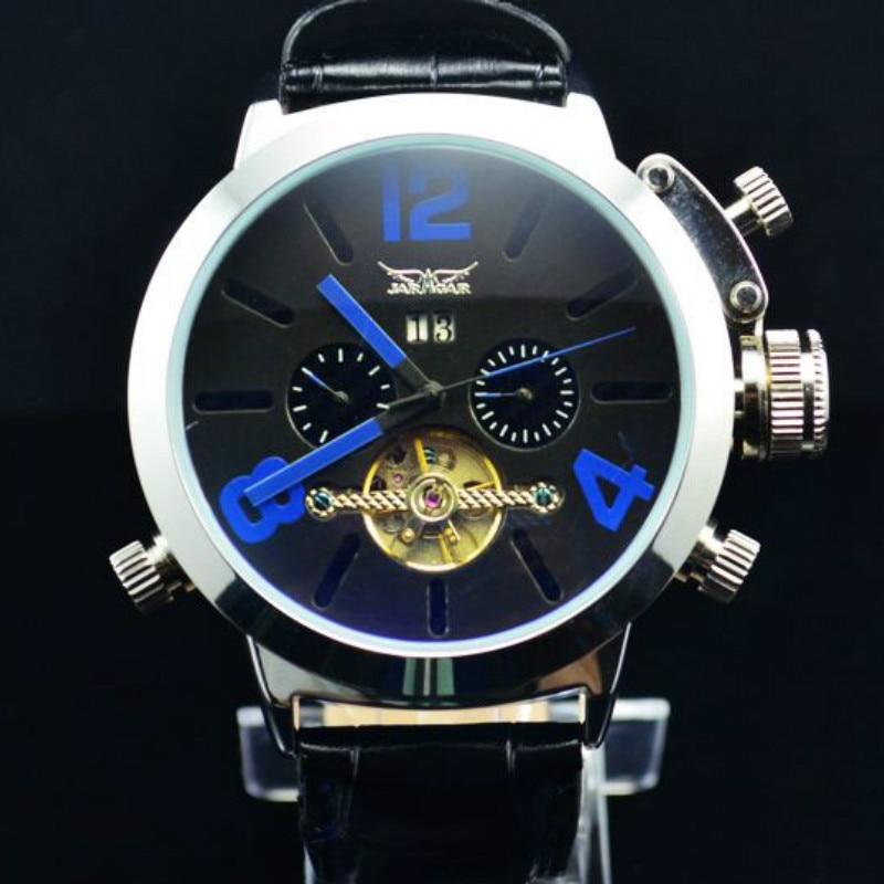 JARGAR European and American Luxury Business Big Dial Men s Automatic Tourbillon Mechanical Watch J226