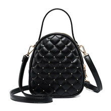 Fashion Women Handbag Leather Phone Pouch Shoulder Bag Satchel Tote Purse Top Handle Bags цена 2017