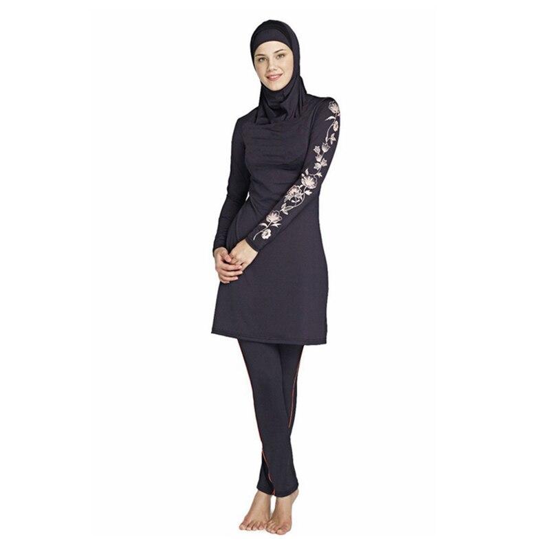 Maillot de bain musulman maillot de bain maillot de bain maillot de - Vêtements nationaux - Photo 2