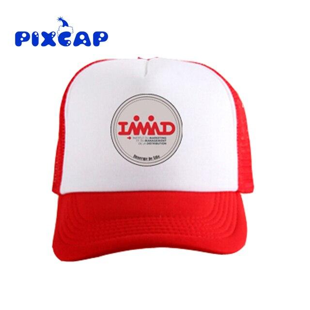 Wholesale Blank baseball Hat Custom Logo Printing Summer Protect Mesh Hat  Teamwork Visor Advertisement DIY Plain Trucker Cap 0d7f082317ab