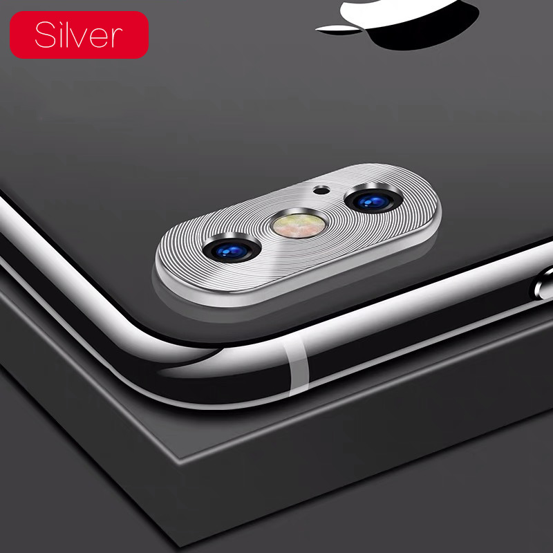 KIPX1118S_1_Metal Camera Lens Protector for iPhone X XS XR XS Max 360 Full Protection Anti-scratch Camera Protective Cover