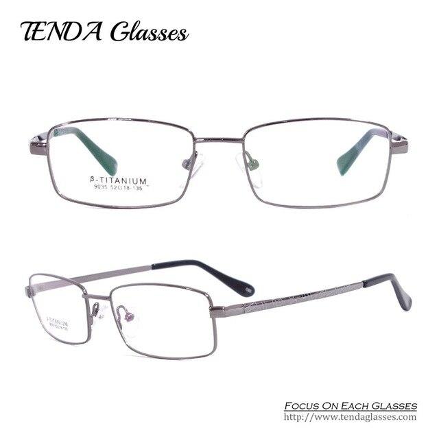 Мужчины Очки Гибкие Титановые Оправы для очков Прогрессивные Мультифокальные Очки Monturas Де Gafas