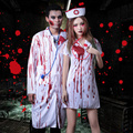 Halloween role-playing clothes Halloween Costume Party bar dance scar reduction bloody female nurse male doctor cosplay costume