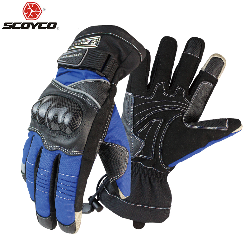Scoyco M15B 2 Motorcycle Gloves Winter Warm Waterproof Windproof Protective Sports Racing Gears Accessories luvas Free